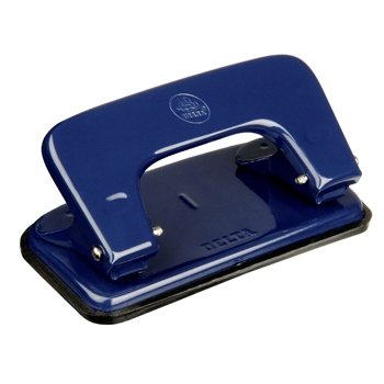 Delta Steel Two Hole Punch 15 Sheet Capacity (Blue)