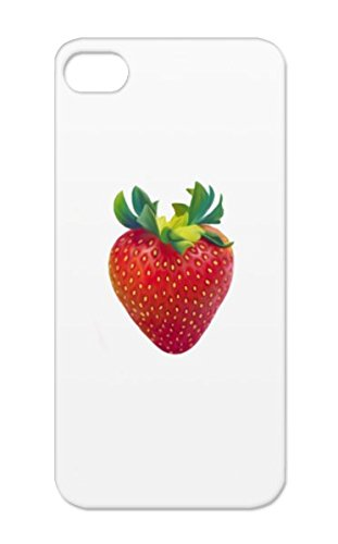 Tpu Shatterproof Sweet Nature Miscellaneous Fruit Sour Tart Seeds Berry Symbols Shapes Health Red Food Strawberry For Iphone 5/5S Strawberry Protective Case