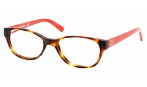 Tory Burch TY2031 Eyeglass Frames 1162-49 - Amber Orange Frame, Demo Lens (Tory Burch Eyeglass Frames compare prices)