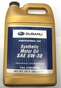 Subaru SOA868V9285 Synthetic Motor Oil - 1 Gallon (Subaru Motor Oil compare prices)
