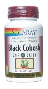 Solaray One Daily Black Cohosh Extract, 180mg, 30 Count