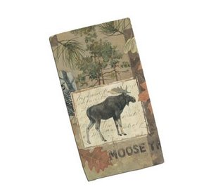 Wilderness Trail Moose Terry Towel - Moose Decor