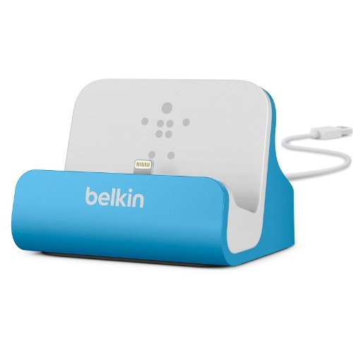 Belkin Mixit Charge And Sync Dock With Lightning Cable Connector For Apple Iphone 5 And Ipod Touch 5Th Gen (Blue)