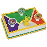 Pokemon Cake Decorating Set Topper