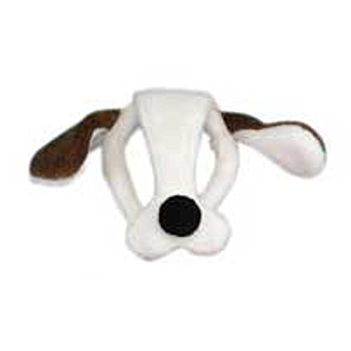 Child's Dog Plush Animal Costume Headpiece
