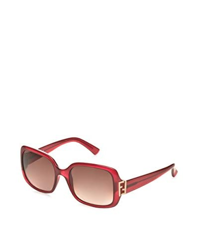 Fendi Women's FS5234 Designer Sunglasses, Red
