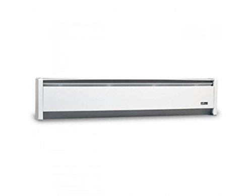 1,000 Watt Baseboard Space Heater Finish: White, Orientation: Right, Voltage: 240 Volt