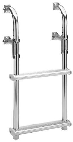 Garelick/EEz-In 18018:01 Marine Compact Two-Step Transom Ladder