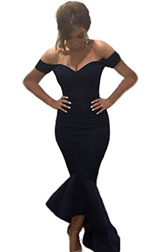 Astylish-Womens-Club-Off-shoulder-Mermaid-Jersey-Cocktail-Evening-Dress
