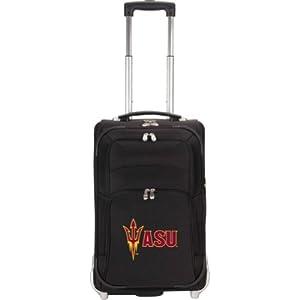 NCAA Arizona State Sun Devils Denco 21-Inch Carry On Luggage, Black