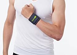 Senteq Fitted Wrist Support Brace for Strengthens and Supports Wrist Tendons and Muscle. Medical Grade and FDA Approved