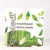 (Pack of 12) Suma - Ecoleaf 3 Ply Kitchen Towel Twin roll pack Pack