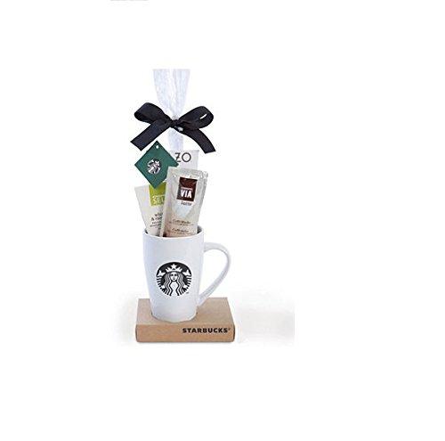 Starbucks Sampler Coffee Mug, Chocolate and Cookies Holiday Gift Set