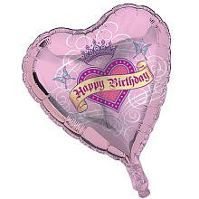 ShindigZ Her Highness 18 inch Mylar Balloon by Creative Converting