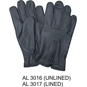 Men's Brown Leather String Backed Driving Gloves (Glv14) by The