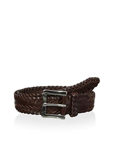 J. McLaughlin Men's Flat Braid Belt