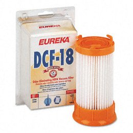 Eureka Dust Cup Filter For Bagless Upright Vacuum Cleaner, Dcf-18 (Eur63073-2) Category: Vacuum Bags, Belts And Accessories front-149103