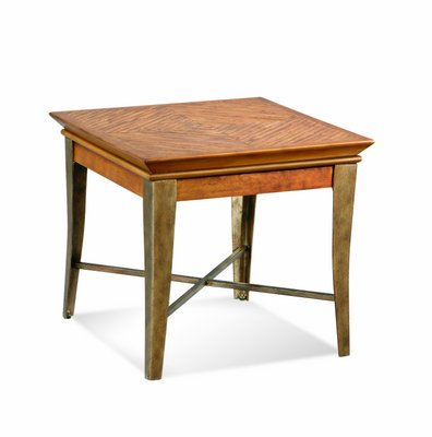 Buy Low Price Bassett Mirror Montego Rectangular End Table (T2040-200)