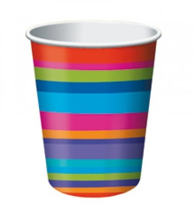 Retirement Stripes 9oz Cups