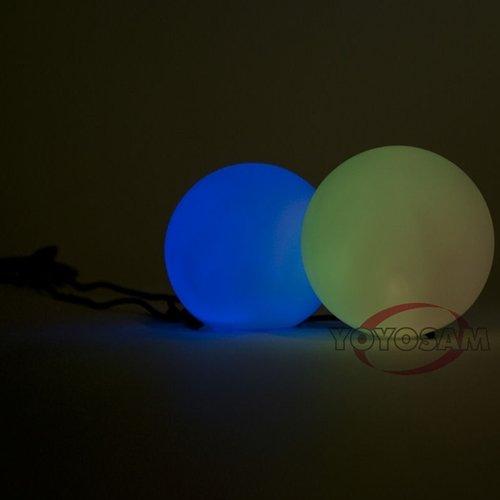 Zeekio Lighted Led Poi - Multi Color Rave Toy