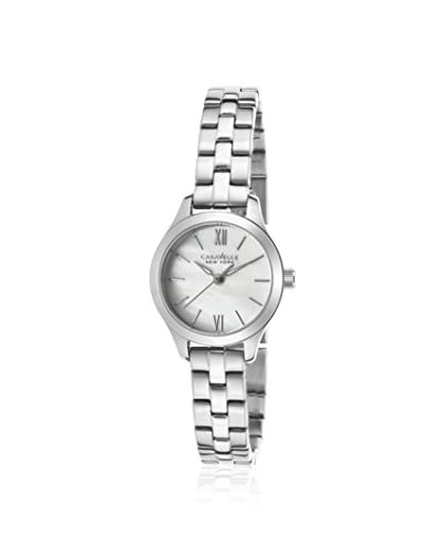 Caravelle New York Women's 43L177 Silver/MOP Stainless Steel Watch