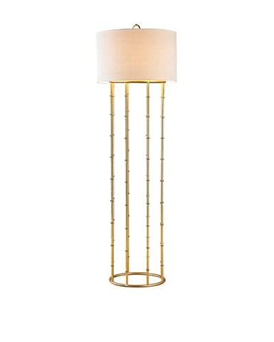 Artistic Brunei 1-Light Floor Lamp, Gold Leaf
