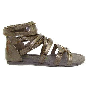 Office Pewter Gladiator Sandals Greek Sandals