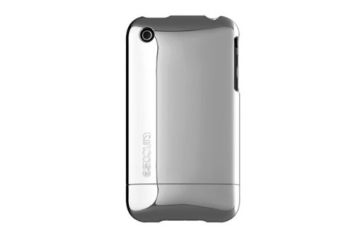 Incase CL59289B Chrome Slider Case for iPhone 3G and iPhone 3GS, Silver Chrome
