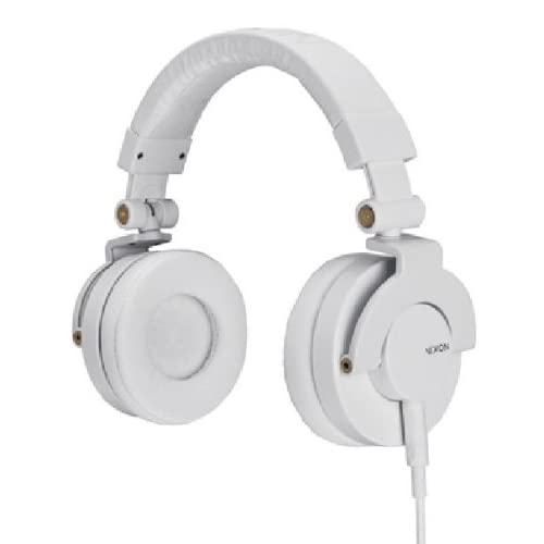NIXON HEADPHONES: RPM/ WHITE NH019100-00