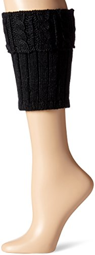 Steve Madden Women's Cable Boot Cuff, Black, 1-Size (Steve Madden Rain Boots For Women compare prices)