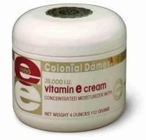 Vitamin E Concentrated Moisturizer Cream 28000 I.U. - 4 Oz Jar