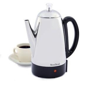 Focus Electrics, WB Percolator 12C SS (Catalog Category: Kitchen & Housewares / Coffee Makers) by Focus Electrics