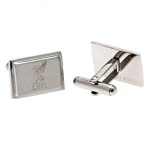 Liverpool F.C. Stainless Steel Cufflinks LB from TU Football Souvenirs