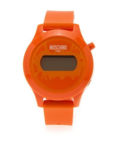 Moschino Teen Reloj Digital Teen Naranja
