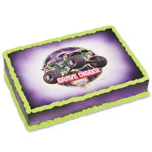 Monster Jam Edible Cake Topper
