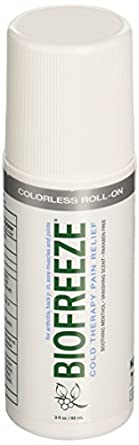 Biofreeze Pain Reliever Gel, 3 Ounce Roll-on Applicator