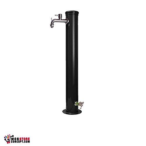 Fontaine di ferro con raccordo e rubinetti 42/Arr (colore grigio)