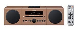 Yamaha MCR-042LBR Desktop Audio System (Light Brown)