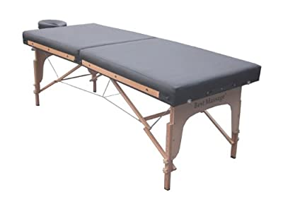 "31"" Wide Flattop PU Portable Massage Table Spa Bed F2"