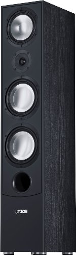 GLE 490 Standlautsprecher 150/320 Watt, schwarz