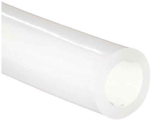 White Translucent Medical Grade SiliconeTubing, 0.313
