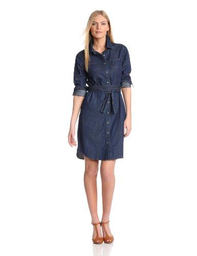 Pendleton Women's Wayward Dress, Denim Shirting, Small