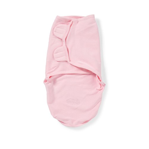 Summer Infant SwaddleMe Adjustable Infant Wrap, Pink, Small/Medium - 1