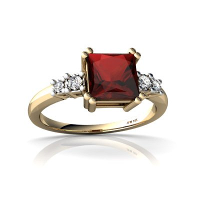 Square Rings With Diamonds