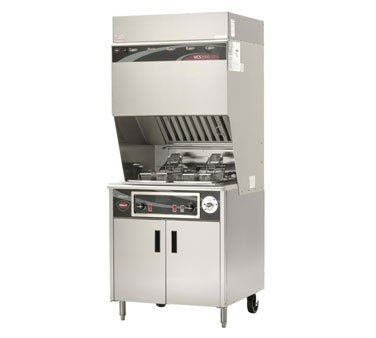 Wells Wvf-886 Wells Commercial Electric Fryer - Ventless - 30 Lb. Capacity - Wvf-886