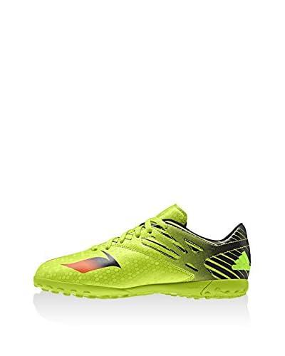 adidas Zapatillas de fútbol Messi 15.4 TF J Verde / Rojo / Negro