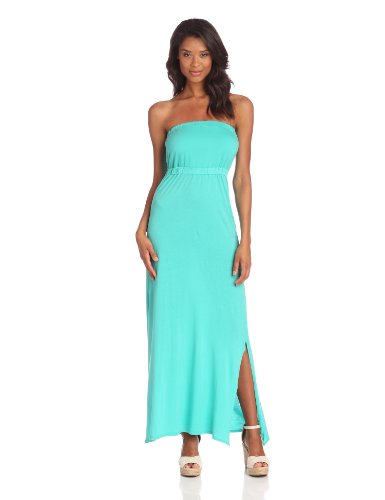 Joie Women's Cade Strapless Garment Dyed Maxi Dress, Billiard, Medium