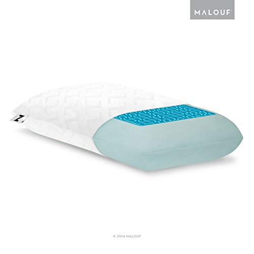 Buy Cheap Z Gel Infused Dough Memory Foam + Liquid Gel Pillow with Removable Velour Cover - 5-Year W...