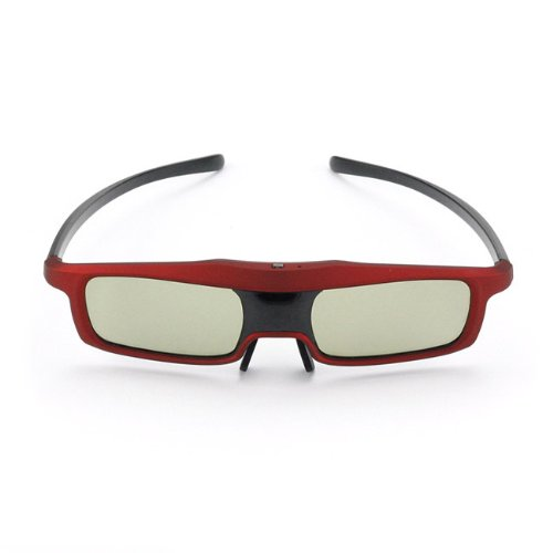 Sainsonic Rainbow Series 2013 Newest Economical Red Version Universal 3D Rechargeable Infrared Active Shutter Glasses For Panasonic, Samsung, Sony, Sharp, Lg, Toshiba, Philips 3D Hdtvs, Cost Less, Enjoy More! front-579508