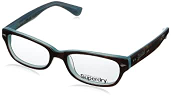 Amazon.com: Superdry Women's Layla-102 Rectangular Eyeglasses,Tortoise